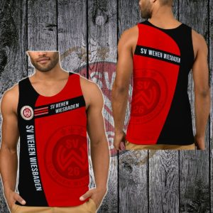 TKMGER311 - Männliche Tank Top - 3D Voll Bedruckte One Style One Color L