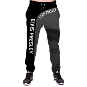 WKELVIS - UNISEX SWEATPANTS - 2019 DESIGN -3D Full Printed High Quality Unisex Sweatpants One Color L