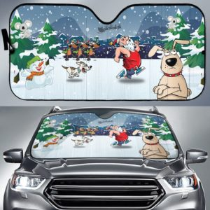 CARSUNCHRISTFUN - Car Sunshade - 3D Full Printed One Style One Color One Size
