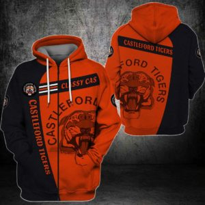 ZIPENG301 - Zipper Hoodie - 3D Full Printed One Style One Color L