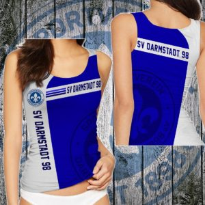 TKFGER108 - Weibliches Tank Top - 3D Voll Gedruckt One Style One Color L