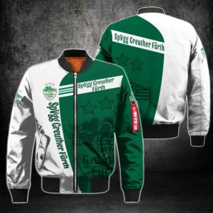 BJKGER203 - Bomberjacke - 3D Voll Gedruckt One Style One Color L
